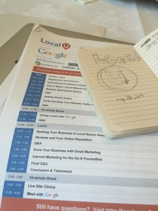 Tweet: At local u learning about the web and stuff. http:…