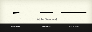 Mind Your En And Em Dashes: Typographic Etiquette